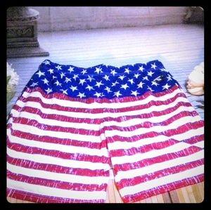 Men's NWTs 'Revolution' USA Board Shorts Size XL